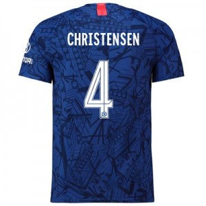 Chelsea Home Cup Vapor Match Shirt 2019-20 with Christensen 4 printing