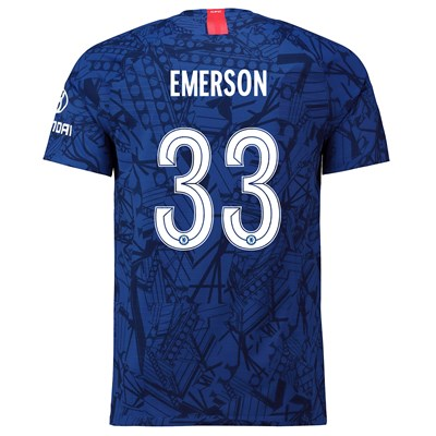 Chelsea Home Cup Vapor Match Shirt 2019-20 with Emerson 33 printing