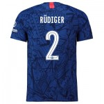 Chelsea Home Cup Vapor Match Shirt 2019-20 with Rüdiger 2 printing