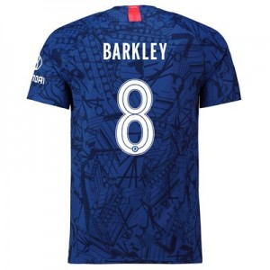 Chelsea Home Cup Vapor Match Shirt 2019-20 with Barkley 8 printing