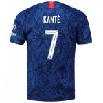 Chelsea Home Cup Stadium Shirt 2019-20 with Kanté 7 printing