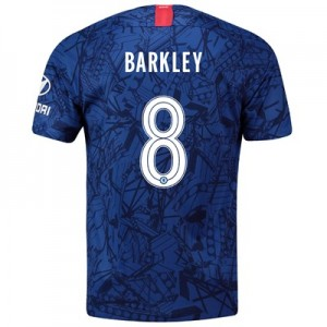 Chelsea Home Cup Stadium Shirt 2019-20 with Barkley 8 printing