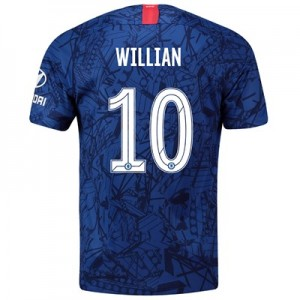 Chelsea Home Cup Stadium Shirt 2019-20 with Willian 10 printing