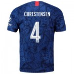 Chelsea Home Cup Stadium Shirt 2019-20 with Christensen 4 printing