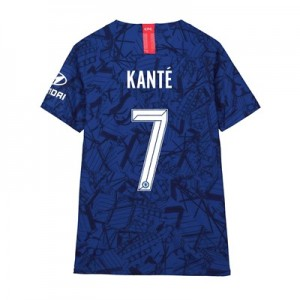 Chelsea Home Cup Vapor Match Shirt 2019-20 - Kids with Kanté 7 printing