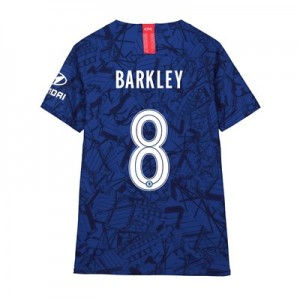 Chelsea Home Cup Vapor Match Shirt 2019-20 - Kids with Barkley 8 printing
