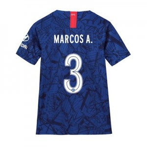 Chelsea Home Cup Stadium Shirt 2019-20 - Kids with Marcos A. 3 printing