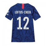 Chelsea Home Cup Stadium Shirt 2019-20 - Kids with Loftus-Cheek 12 printing