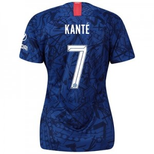 Chelsea Home Cup Stadium Shirt 2019-20 - Womens with Kanté 7 printing