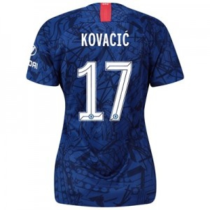 Chelsea Home Cup Stadium Shirt 2019-20 - Womens with Kovacic  17 printing