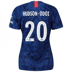 Chelsea Home Cup Stadium Shirt 2019-20 - Womens with Hudson-Odoi 20 printing