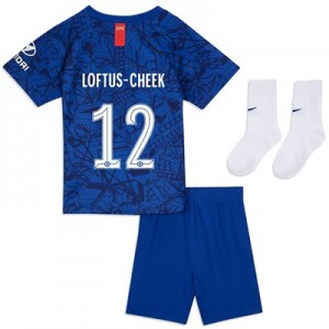 Chelsea Home Cup Stadium Kit 2019-20 - Infants with Loftus-Cheek 12 printing