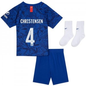 Chelsea Home Cup Stadium Kit 2019-20 - Infants with Christensen 4 printing