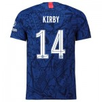 Chelsea Home Cup Vapor Match Shirt 2019-20 with Kirby 14 printing
