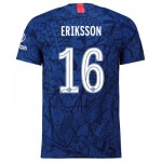 Chelsea Home Cup Vapor Match Shirt 2019-20 with Eriksson 16 printing