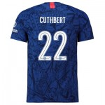 Chelsea Home Cup Vapor Match Shirt 2019-20 with Cuthbert 22 printing