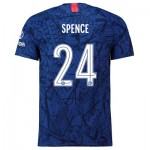 Chelsea Home Cup Vapor Match Shirt 2019-20 with Spence 24 printing