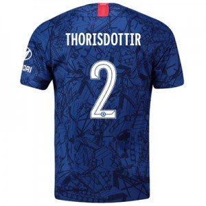Chelsea Home Cup Stadium Shirt 2019-20 with Thorisdottir 2 printing
