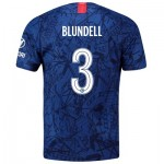 Chelsea Home Cup Stadium Shirt 2019-20 with Blundell 3 printing