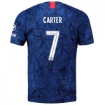 Chelsea Home Cup Stadium Shirt 2019-20 with Carter 7 printing