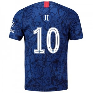 Chelsea Home Cup Stadium Shirt 2019-20 with Ji 10 printing