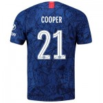Chelsea Home Cup Stadium Shirt 2019-20 with Cooper 21 printing