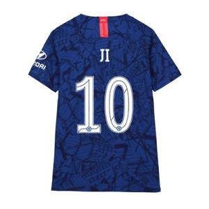 Chelsea Home Cup Vapor Match Shirt 2019-20 - Kids with Ji 10 printing