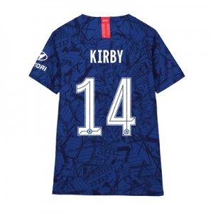 Chelsea Home Cup Vapor Match Shirt 2019-20 - Kids with Kirby 14 printing