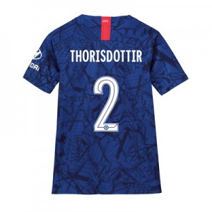 Chelsea Home Cup Stadium Shirt 2019-20 - Kids with Thorisdottir 2 printing