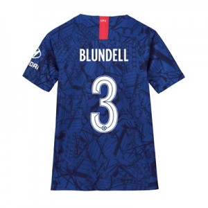 Chelsea Home Cup Stadium Shirt 2019-20 - Kids with Blundell 3 printing