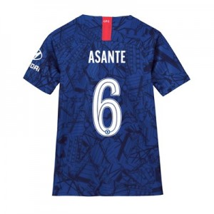 Chelsea Home Cup Stadium Shirt 2019-20 - Kids with Asante 6 printing
