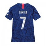 Chelsea Home Cup Stadium Shirt 2019-20 - Kids with Carter 7 printing