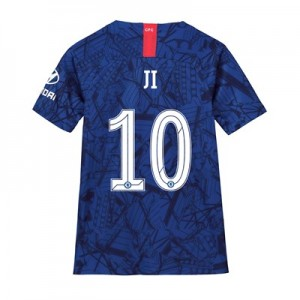 Chelsea Home Cup Stadium Shirt 2019-20 - Kids with Ji 10 printing