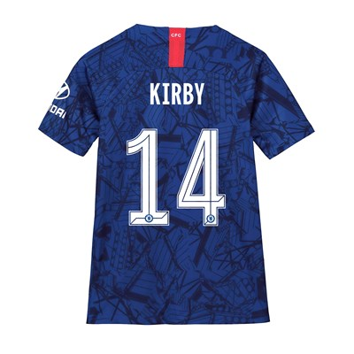 Chelsea Home Cup Stadium Shirt 2019-20 - Kids with Kirby 14 printing
