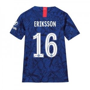 Chelsea Home Cup Stadium Shirt 2019-20 - Kids with Eriksson 16 printing