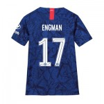 Chelsea Home Cup Stadium Shirt 2019-20 - Kids with Engman 17 printing
