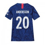 Chelsea Home Cup Stadium Shirt 2019-20 - Kids with Andersson 20 printing