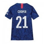 Chelsea Home Cup Stadium Shirt 2019-20 - Kids with Cooper 21 printing