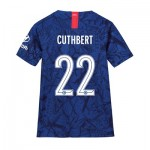 Chelsea Home Cup Stadium Shirt 2019-20 - Kids with Cuthbert 22 printing
