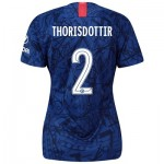 Chelsea Home Cup Stadium Shirt 2019-20 - Womens with Thorisdottir 2 printing