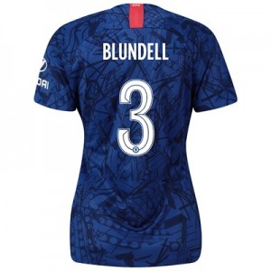 Chelsea Home Cup Stadium Shirt 2019-20 - Womens with Blundell 3 printing
