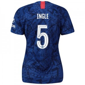 Chelsea Home Cup Stadium Shirt 2019-20 - Womens with Ingle 5 printing