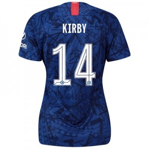Chelsea Home Cup Stadium Shirt 2019-20 - Womens with Kirby 14 printing