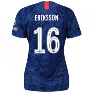 Chelsea Home Cup Stadium Shirt 2019-20 - Womens with Eriksson 16 printing