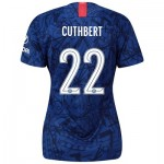 Chelsea Home Cup Stadium Shirt 2019-20 - Womens with Cuthbert 22 printing