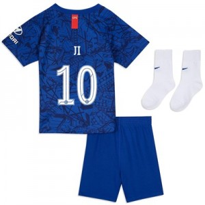 Chelsea Home Cup Stadium Kit 2019-20 - Infants with Ji 10 printing
