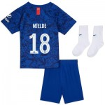 Chelsea Home Cup Stadium Kit 2019-20 - Infants with Mjelde 18 printing