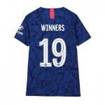 Chelsea Home Cup Vapor Match Shirt 2019-20 - Kids with Winners 19 printing