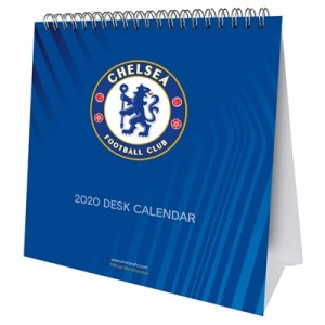 Chelsea Official 2020 Desk Calendar