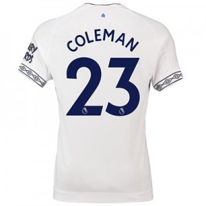 Everton Third Shirt 2018-19 with Coleman 23 printing
